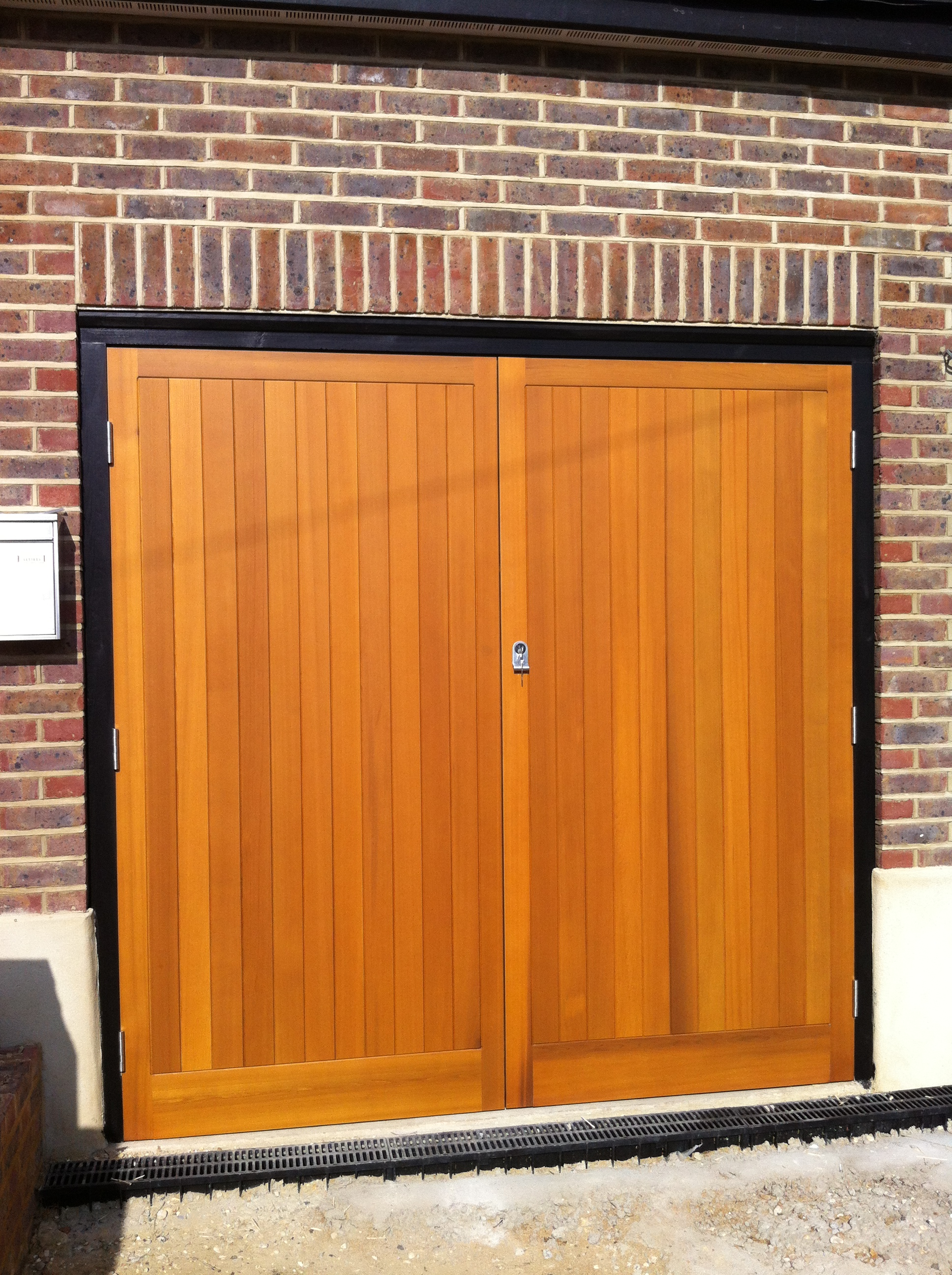 Timber Side Hinged Garage Doors Kent And Sussex Garage Doors